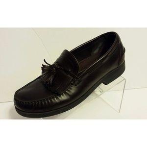 Rockport Tassel Loafers Leather Dress Shoes 11.5